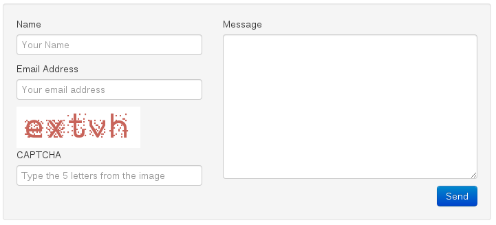 Secure your Contact Form against SPAM Bots