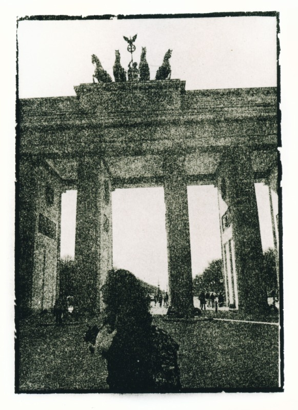 Lith Photography Berlin Brandenburger Tor